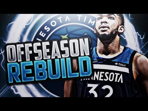 ULTIMATE SUPER TEAM!! TWOLVES OFFSEASON REBUILD! NBA 2K18