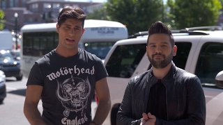 Dan & Shay in Wanna Lyft? | CMA FEST 2016 | CMA