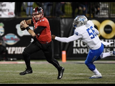 Mike White (Western Kentucky QB) vs Middle Tennessee State- 2017