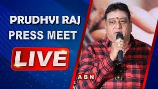 Tollywood Actor Prudhvi Raj Alleges Opposition Parties | Supports YCP | ABN Telugu