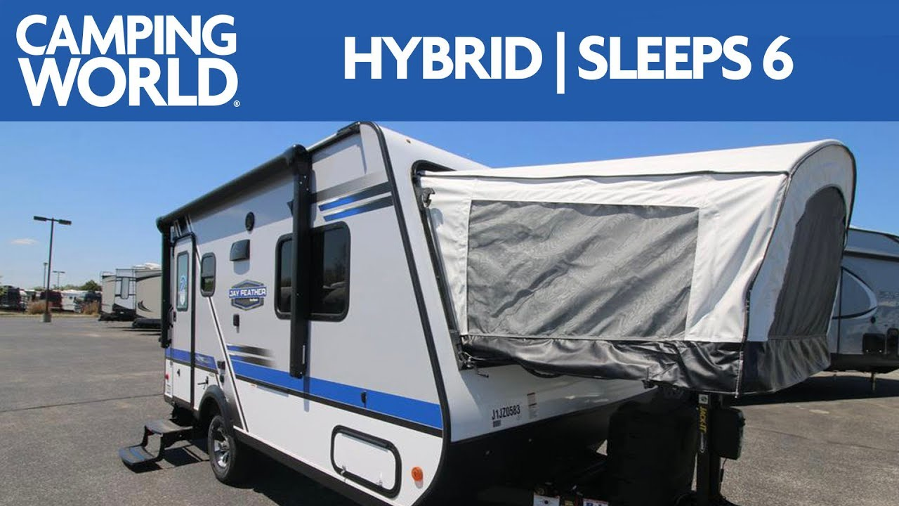 2018 Jayco Jay Feather X17z Travel Trailer Rv Review Camping World