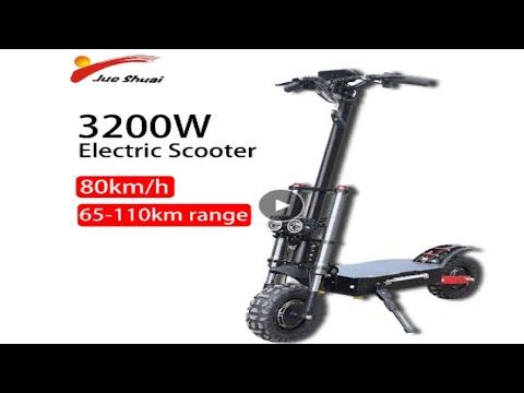 электросамокат 80 км/ч 3200W скутер с сиденьем 110 км расстояние складной внедорожный купить на Али