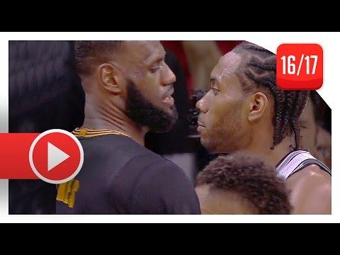 Kawhi Leonard vs LeBron James EPIC Duel Highlights (2017.01.21) Spurs vs Cavaliers - MUST WATCH!