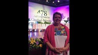 Discurso de Margarita Robleda en el 478 Aniversario de la Ciudad.