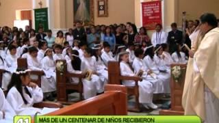 NIÑOS RECIBIERON PRIMERA COMUNIÓN EN CATEDRAL DE TACNA