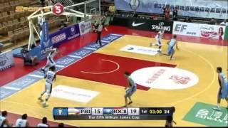 Philippines vs. Chinese Taipei B - Q1   JONES CUP 2015