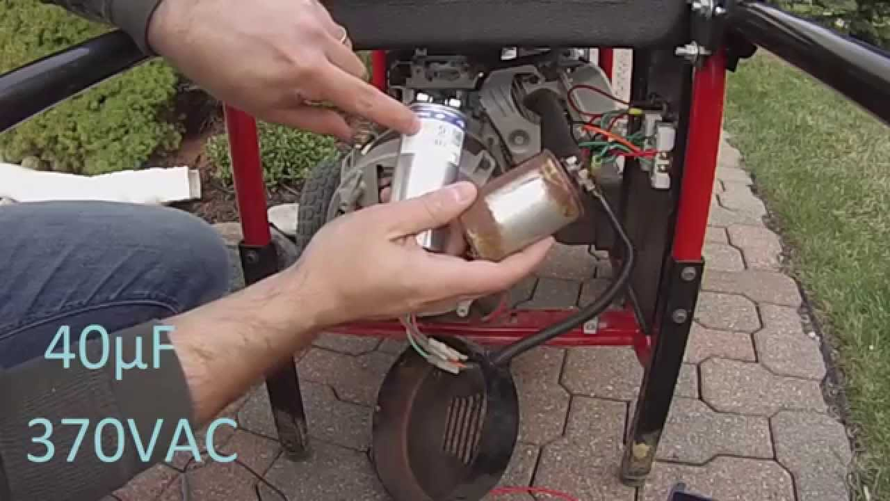 Brushless Generator Not Producing Any Power Youtube Diesel Wiring Diagram Alternator Charging