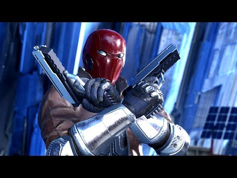 INJUSTICE 2: All RED HOOD Intros (Dialogue & Character Bante