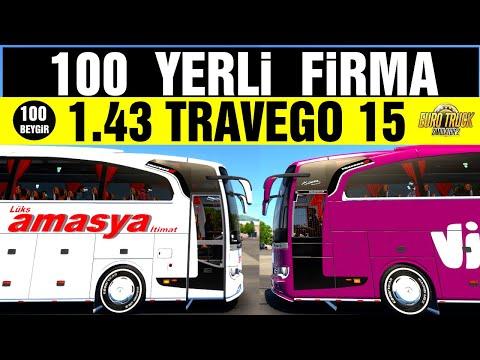 ETS 2 - 1.40 - YENİ REKOR - 100 FİRMA KAPLAMASI   !!!!!