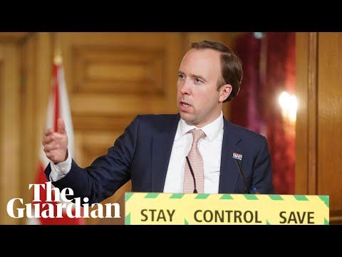 Coronavirus: Matt Hancock