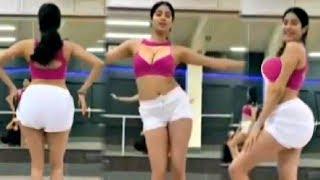 jhanvi kapoor belly dance video dance deewane 2