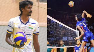 Ajith lal best spikes , part 1, best player in India , life of volley , Don't miss it..