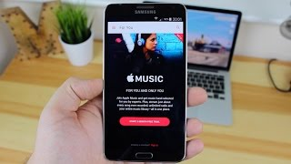 Apple Music on Android (Spotify Killer?)(In this video we get back to Android......with an iOS crossover. Today we are looking at Apple Music on Android. Does Apple Music have what it take to compete ..., 2015-12-05T11:52:57.000Z)