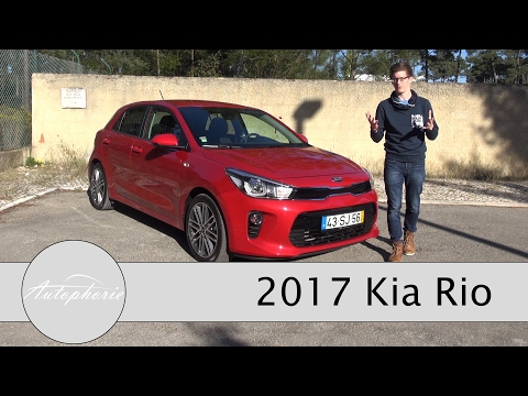 2017 Kia Rio Test: 1,2-Liter Sauger (84 PS) und 1,0-Liter Turbo (100 PS) Review - Autophorie