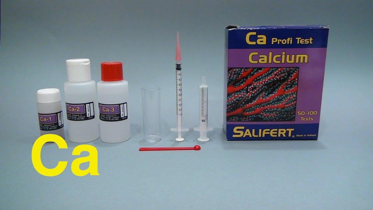 Salifert Calcium Profi Test Tutorial Youtube