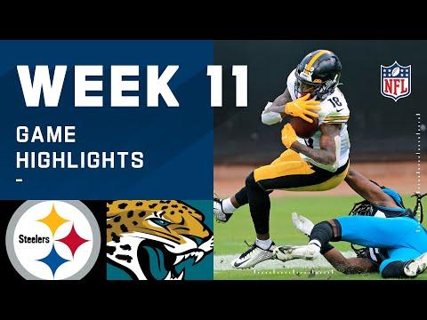 Steelers vs. Jaguars Week 11 Highlights | NFL 2020