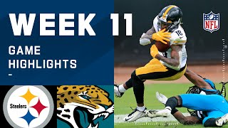 Steelers vs. Jaguars Week 11 Highlights | NFL 2020