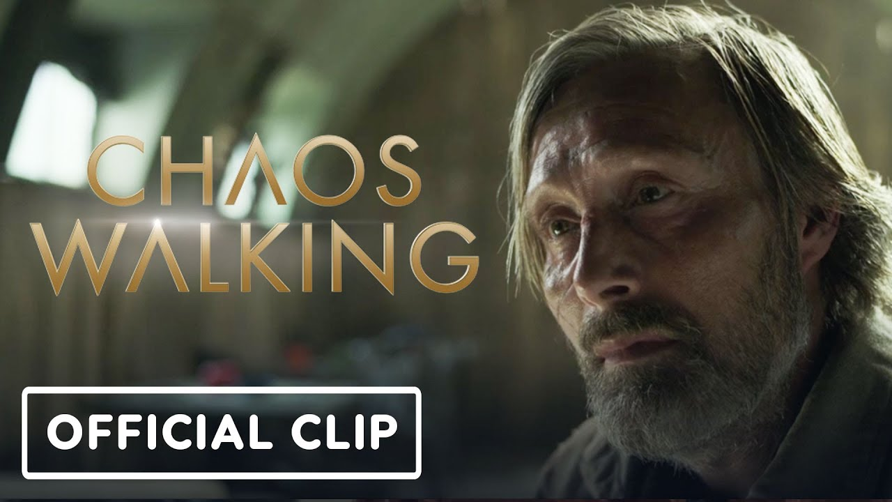 Chaos Walking: Official Clip #2 (2021) - Daisy Ridley, Mads Mikkelsen