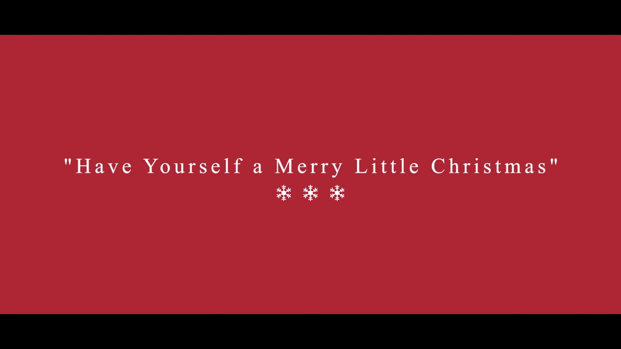 Have yourself a Merry Little Christmas - Andrea Daniela ft. Trio Chapultepec - YouTube