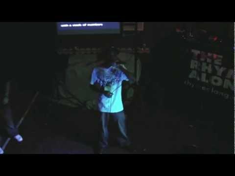 The Rhyme Along - Hip Hop Karaoke LA - 11.19.11 - We Be Clubbing peformed by AL