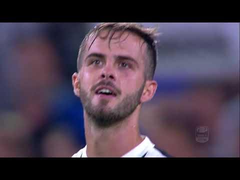 Il gol di Pjanic - Juventus - Torino 4-0 - Giornata 6 - Serie A TIM 2017/18