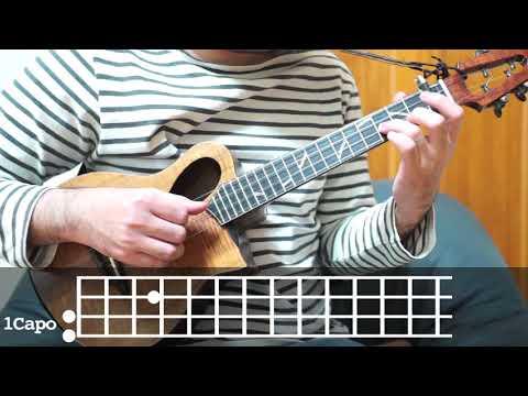簡単ソロウクレレレッスン - aruarian dance(Nujabes cover サムライチャンプルーBGM)/easy solo ukulele(SAMURAI CHAMPLOO)