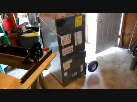HVAC Install- Goodman ARUF Air Handler Prep - YouTube