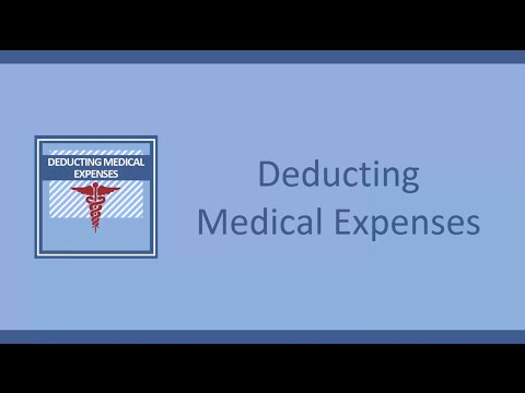 Deducting Medical Expenses