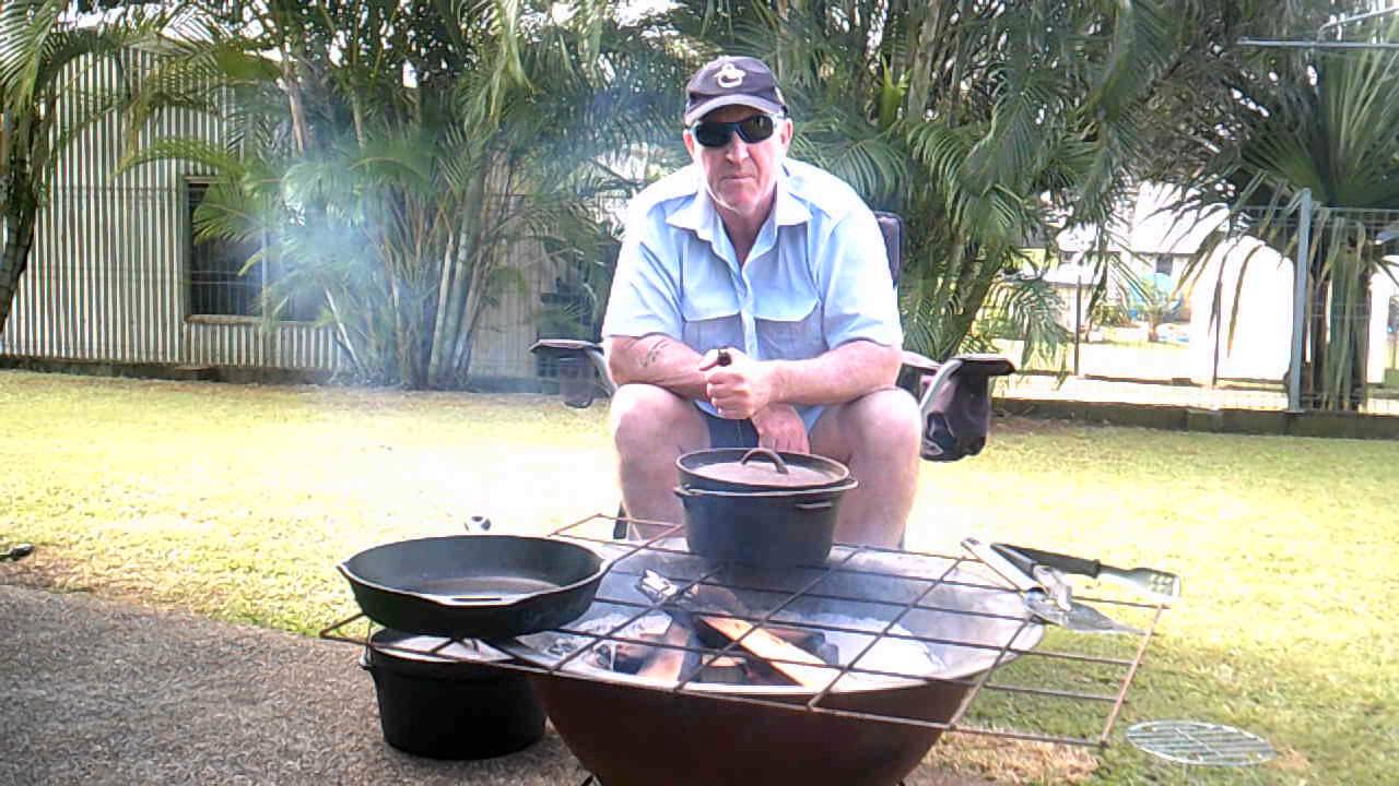 Fire Pit Cooking - YouTube