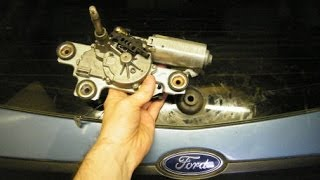 Ford Focus Rear Wiper Blade Motor Replacement