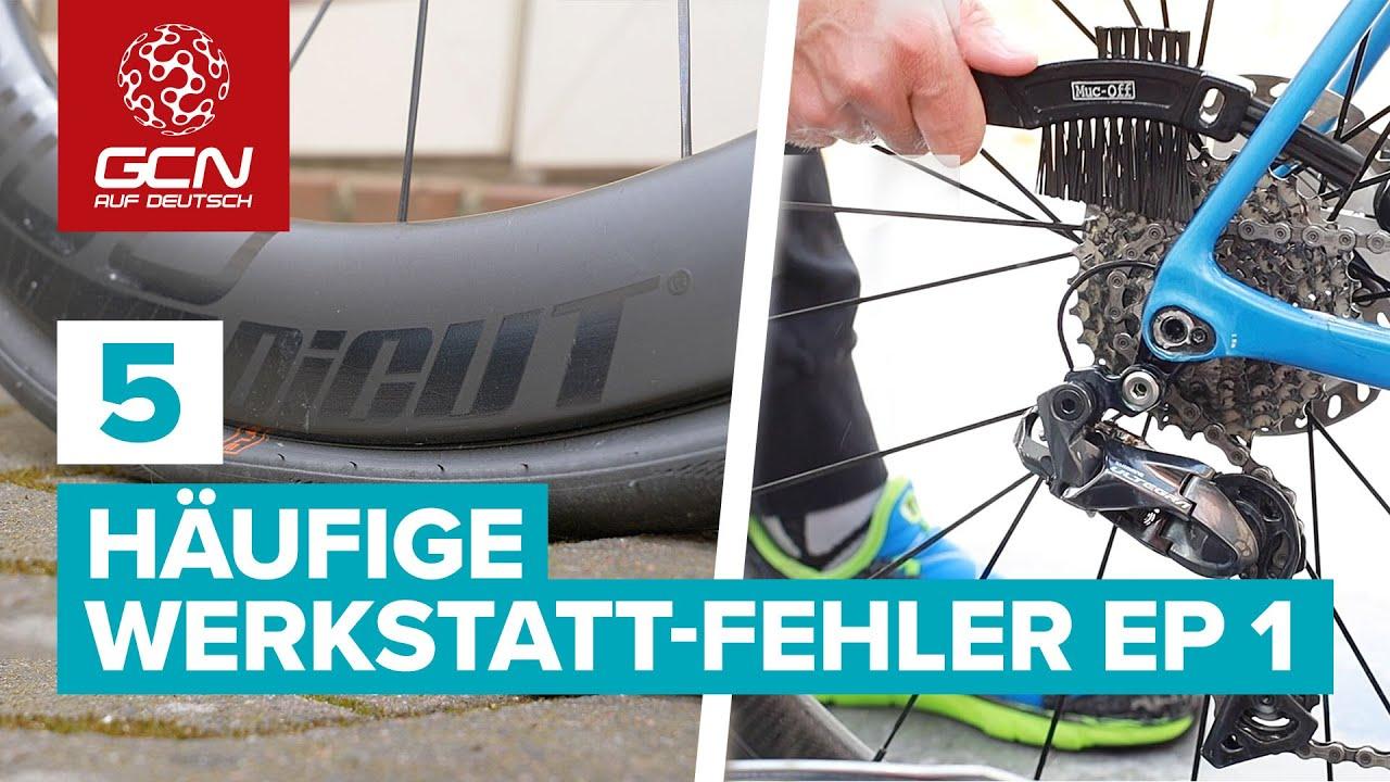 Fahrrad Wartung - 5 Häufige Werkstatt-Fehler | Episode 1