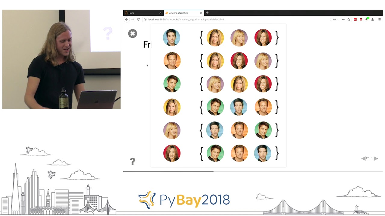Image from Amusing Algorithms | Max Humber @ PyBay2018