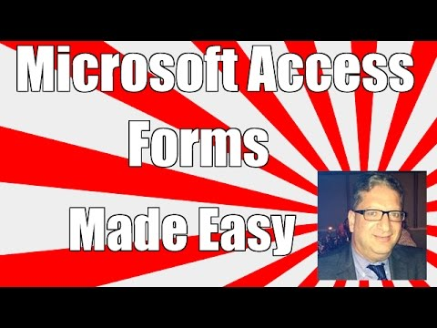 Access Forms 2016 - How To Make And Manage Forms In Microsoft Access 2010, 2013, 2016  Tutorial