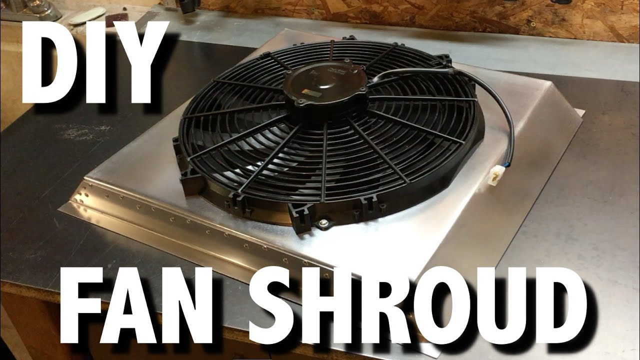 Factory Five Cobra Fan Shroud Fabrication Youtube