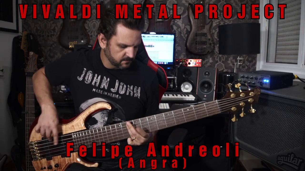 New Album Featured Artist - Bassist Felipe Andreoli