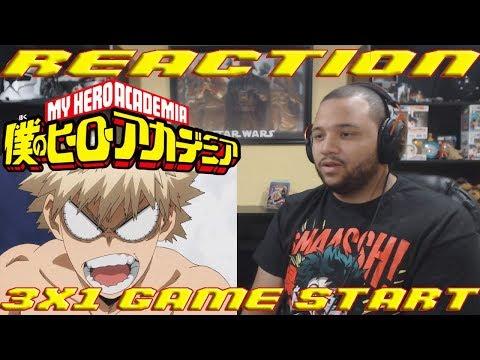 My Hero Academia - 3x1 Game Start | REACTION!!