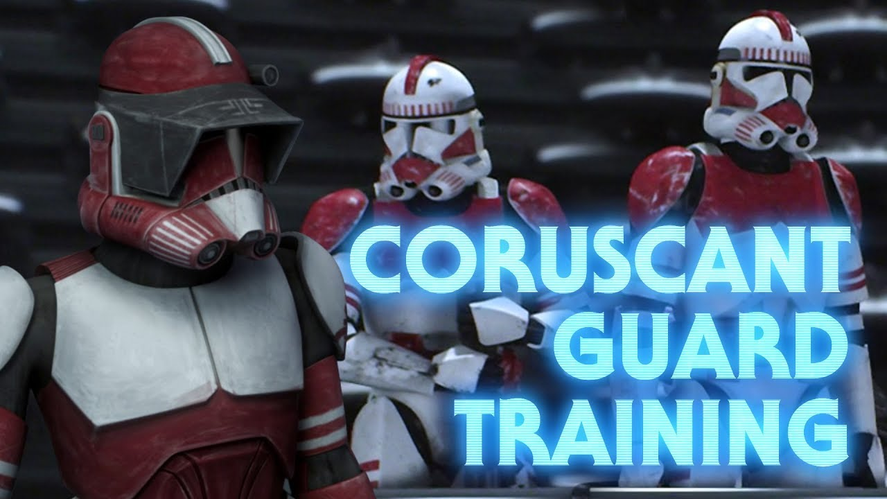 What Set The Coruscant Guard Apart From Clone Troopers Youtube