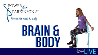Power for Parkinson's Friday Brain & Body - Live Streaming 150