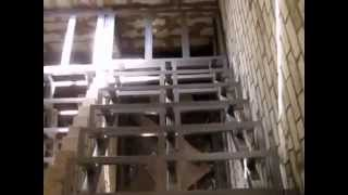 Лестница металлический каркас(Несущие балки- труба профильная 80x60x5 , стойки подступенников -труба профильная 60x40x3, ступени- угловая сталь..., 2015-09-11T13:39:23.000Z)