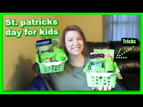 ST. PATRICKS DAY FOR KIDS *CHEAP FUN TRICKS AND IDEAS*