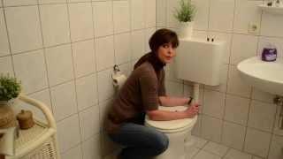 WC Sitz wackelt (Lösung)  Befestigung Toilettendeckel Sitz
