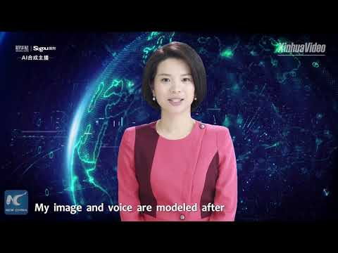 Xinhua unveils world's first female AI news anchor