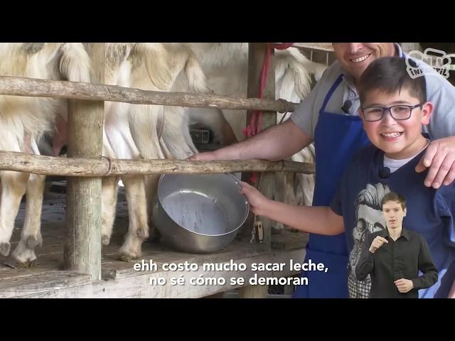 Quesero de Chanco: Y tú, ¿En qué trabajas? | Videos en lengua de señas chilena para niños