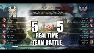 Talion Real Time 5 v 5 Team Battle Gameplay