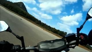 Ufk TAY Yamaha MT 07 Viraj Çalışması 1080P HD