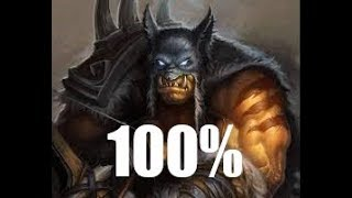 (Hearthstone) 100 percent winrate with mid range hunter KnC
