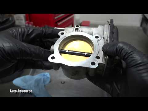 How to clean throttle body on Nissan Frontier