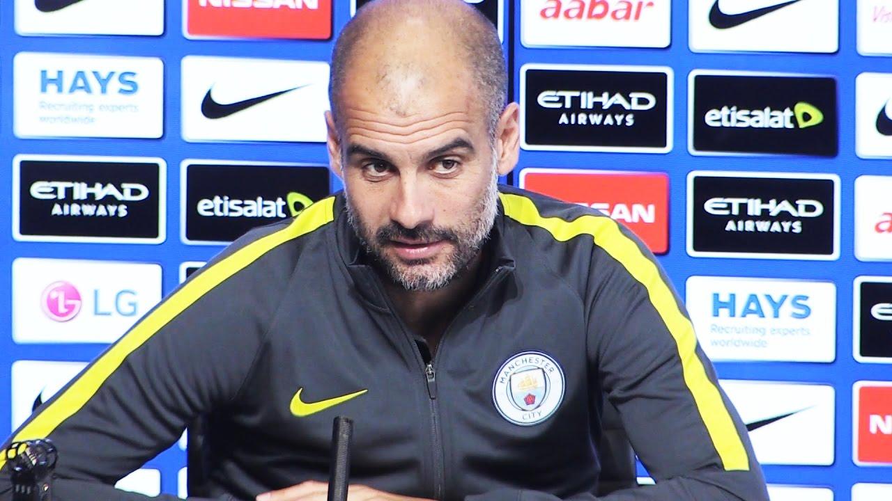 Pep Guardiola Pre-Match Press Conference Manchester United ...