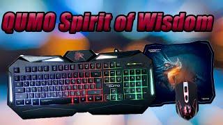 игровой набор QUMO - Spirit of Wisdom. Распаковка и обзор