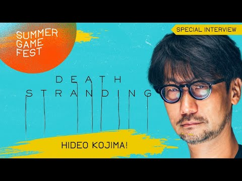 Hideo Kojima Special Interview about Death Stranding PC!